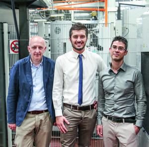Paolo Osti: Manufacturing Engineering Supervisor Massimo Maccaferri: MIDA Probing Systems, Project Manager Davide Lauritano: Manufacturing Engineering, Mechanical Designer
