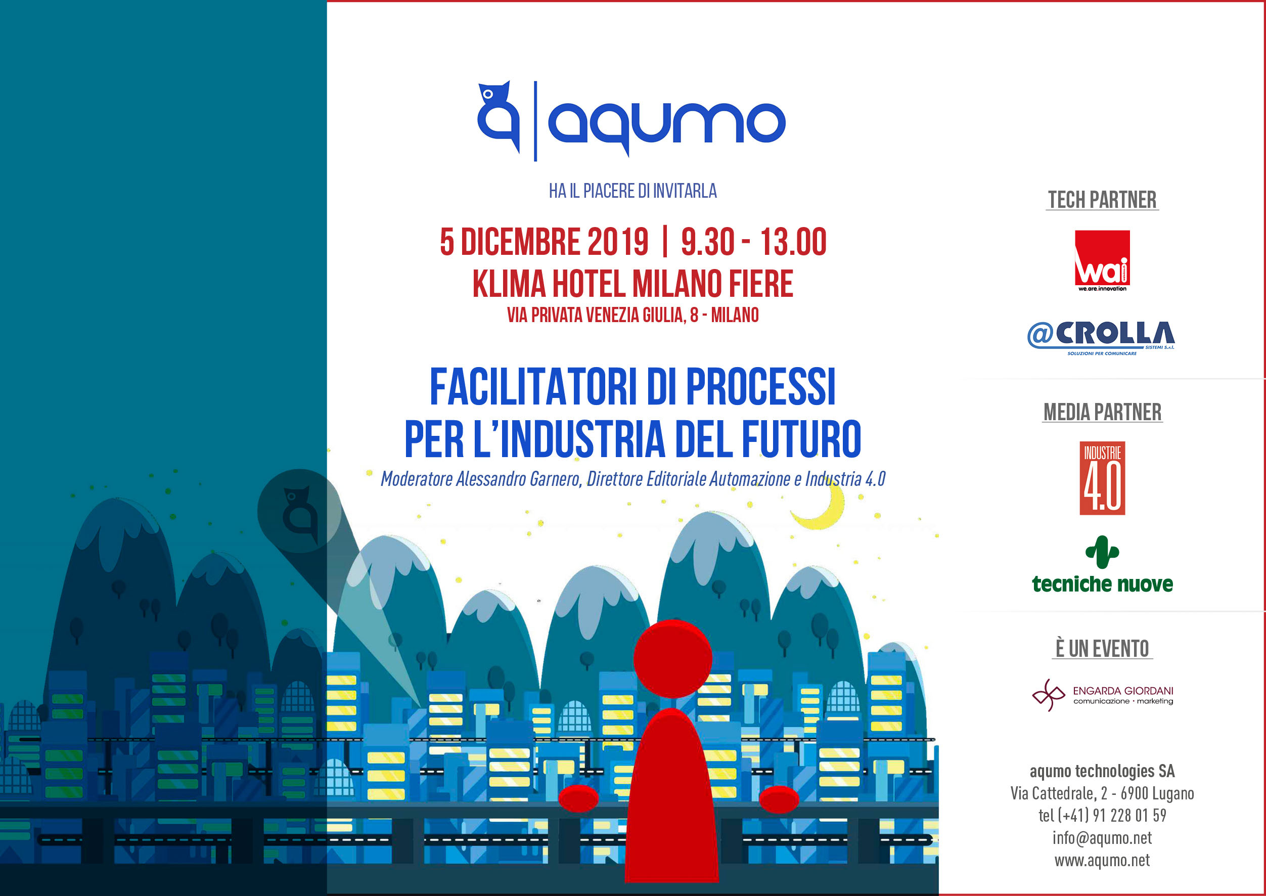 Facilitatori di processi per l'industria del futuro, il workshop gratuito dedicato all'Industria 4.0