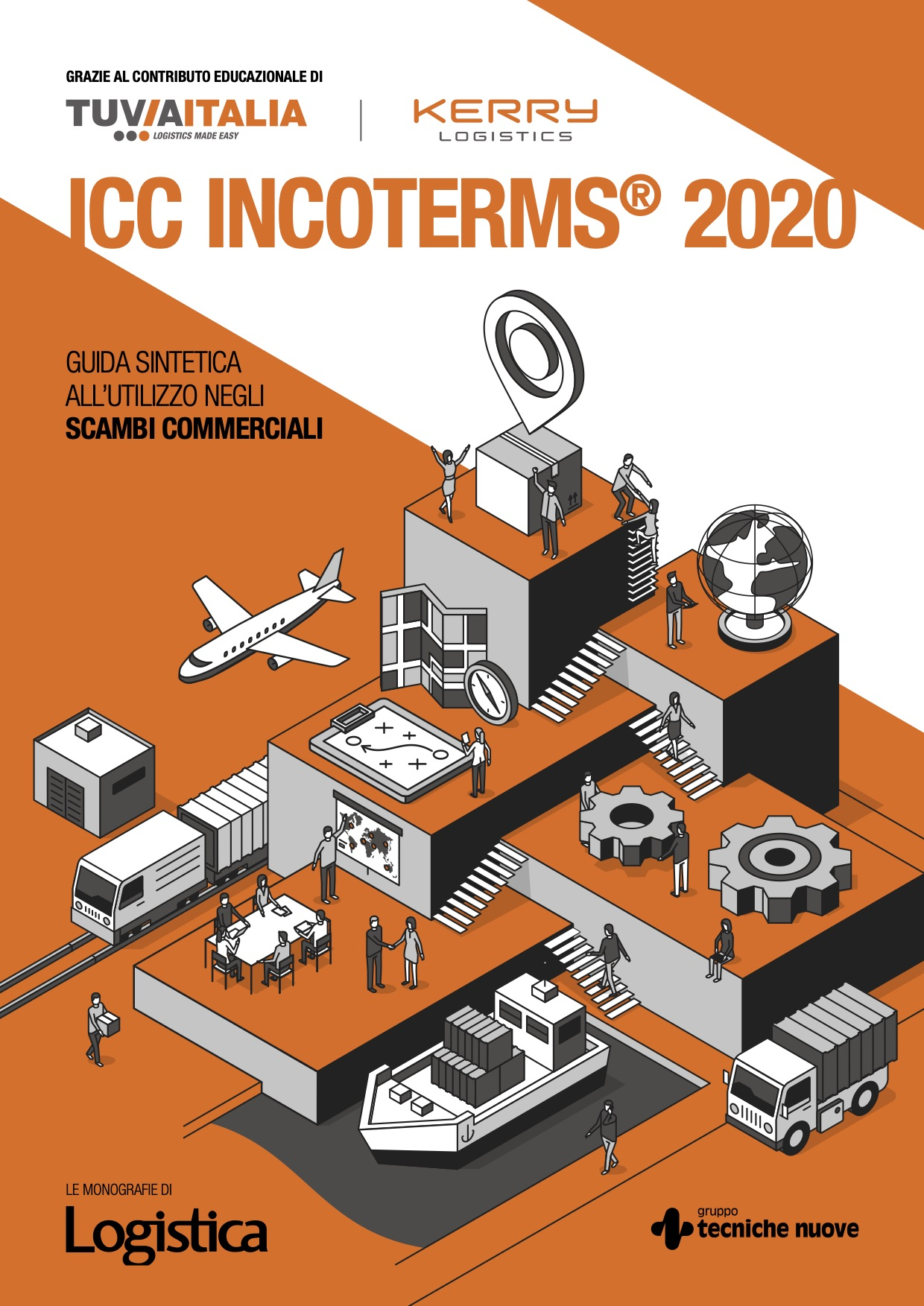 Spedire merci all'estero: INCOTERMS 2020. Scarica la mini guida